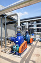 Biogas plant power in thailand Stock Photography