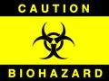 Biohazard sign Stock Photography