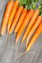 Biological carrots Royalty Free Stock Photos