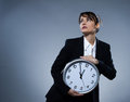 Biological clock concept Stock Images