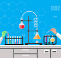 Biology science education equipment.