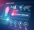 Biometrics Security Technology Royalty Free Stock Photo