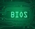 BIOS concept. Royalty Free Stock Photo