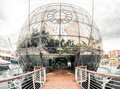 Biosphere. Genova,Italy Royalty Free Stock Photography