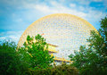 Biosphere museum in montreal canada Royalty Free Stock Photography