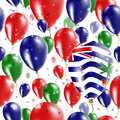 BIOT Independence Day Seamless Pattern.