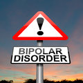 Bipolar disorder concept. Stock Image