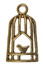 Bird In A Cage, Decorative Ele...