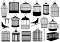 Bird cages Royalty Free Stock Photography