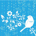 Bird decoration vector Royalty Free Stock Photo