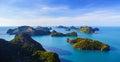Bird Eye View Of Angthong Nati...