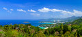 Bird eye view of Phuket panorama, Thailand Royalty Free Stock Photo