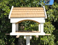 Bird feeder house with food Royalty Free Stock Photography