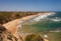 Bird rock lookout over jan juc beach near torquay in victoria australia Royalty Free Stock Photography