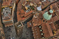 Bird's eye view of Bologna Royalty Free Stock Photo