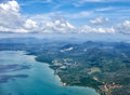Bird`s-eye view on Thailand Royalty Free Stock Photo