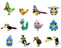 Bird vector Royalty Free Stock Images