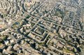 Aerial view on Central Districts of Israel Royalty Free Stock Photo