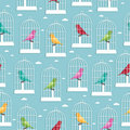 Birdcage pattern Royalty Free Stock Image