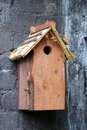 Birdhouse do it yourself wooden Stock Images