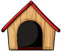 A birdhouse illustration of on white background Royalty Free Stock Photography