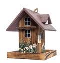 Birdhouse, isolated on white Royalty Free Stock Photo