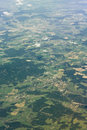 A birds eye aerial view Royalty Free Stock Photo