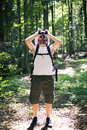 Birdwatching Royalty Free Stock Photo
