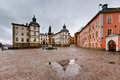 Birger jarls square in riddarholmen part of gamla stan stockholm sweden Royalty Free Stock Photography