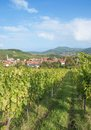 Birkweiler german wine route germany the idyllic village of at rhineland palatinate Stock Image