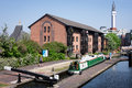 Birmingham Canal Royalty Free Stock Photo