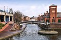 Birmingham uk water canal network west midlands england Royalty Free Stock Image
