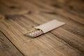 Birth control pills Royalty Free Stock Photo