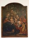 Birth of Jesus, Adoration of the Magi Royalty Free Stock Photo
