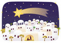Birth of Jesus in Bethlehem Royalty Free Stock Photo