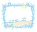 Birth of Jesus in Bethlehem Royalty Free Stock Photo