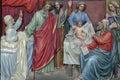 Birth of John the Baptist Royalty Free Stock Photo