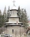 Birth of Virgin Mary Royal Church from Busteni (Prahova), Romania