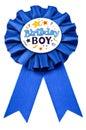 Birthday Badge Royalty Free Stock Photo