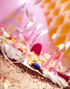 Birthday candles Royalty Free Stock Photo