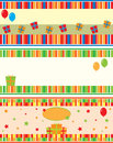 Birthday cards Stock Images