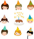 Birthday celebration Royalty Free Stock Photo