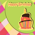 Birthday Celebration card Royalty Free Stock Image