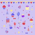 Birthday clipart Stock Images