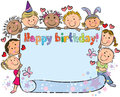 Birthday kids Royalty Free Stock Photos
