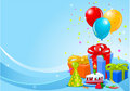 Birthday party background Royalty Free Stock Images