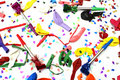 Birthday Party Background Stock Image