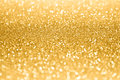 Gold Glitter Sparkle Confetti Background