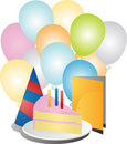Birthday party celebration Royalty Free Stock Photography