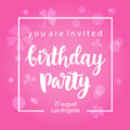 Birthday Party Invitation Banner Template